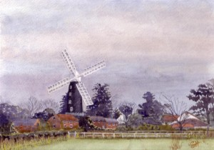 Skidby Windmill April 2012